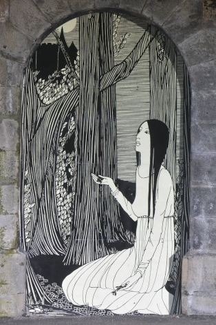 Hannah Frank mural, Gorbals