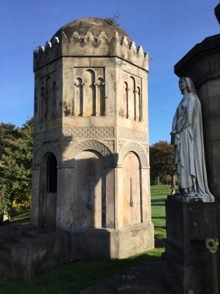 Glasgow Necropolis: Frances Phillips and Miss Cates