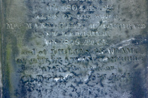 Inscription for Mary Hill and Lilias Graham