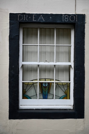 Window dated 1801