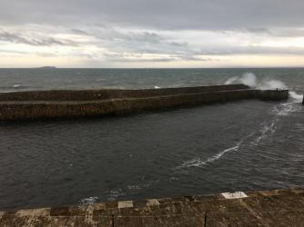 Cellardyke Harbour from Sea Loft