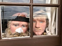 Peeping out from Scottish Fisheries Museum