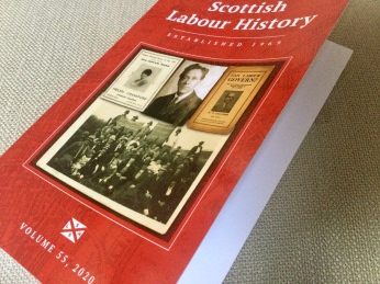 Scottish Labour History cover 2020
