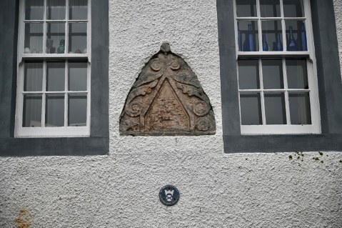 Restored cottage (detail)