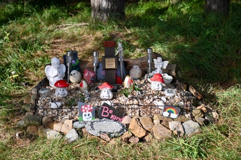 Shell Bay memorial
