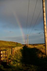 Rainbow above Largo Bay