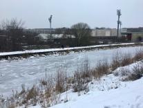 Frozen at Firhill