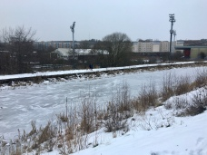 Frozen at Firhill