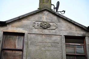 Decorated gable