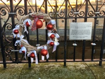 Memorial at Christmas 2020