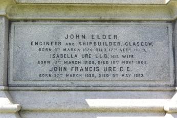Elder family tomb, Glasgow Necropolis