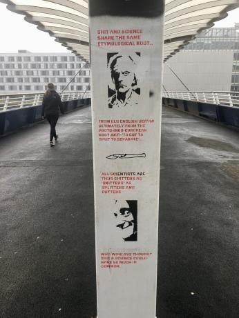 Bell's Bridge graffiti art