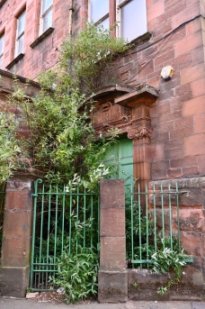 Girls door, former school in Townhead