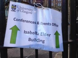 Sign to Isabella Elder Building