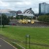 Scottish Event Campus withambulances