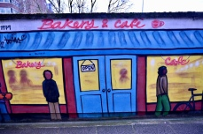 Charing Cross mural