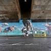 Swimming mural bySmug