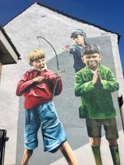 Lady Lane mural, Paisley