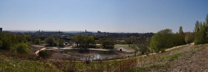 Glasgow from Claypits viewpoint