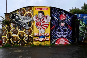 Barras street art