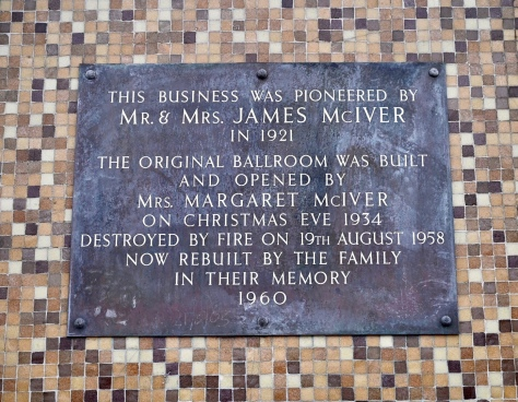 The Barras plaque