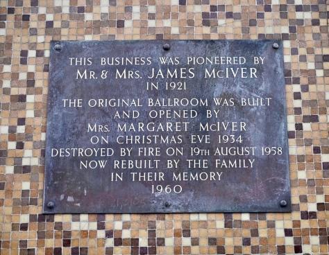 The Barras plaque