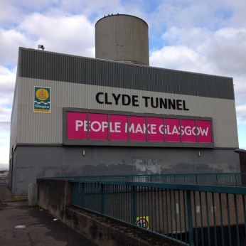 Clyde Tunnel, Govan entrance