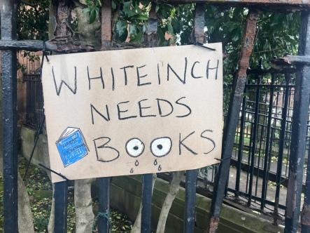Whiteinch needs books
