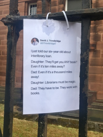 Librarians must be magic