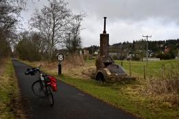 John's bike near Kilmacolm