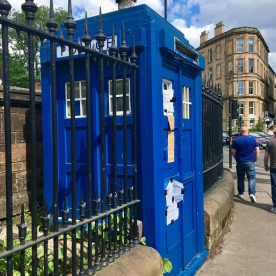 Ex police box, Botanic Gardens