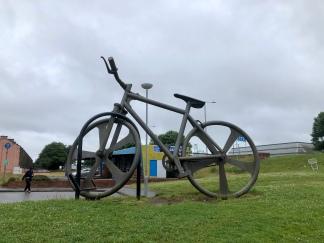 Cycle way at Clydebank