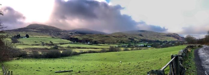 Loch Carron road, near Fintry