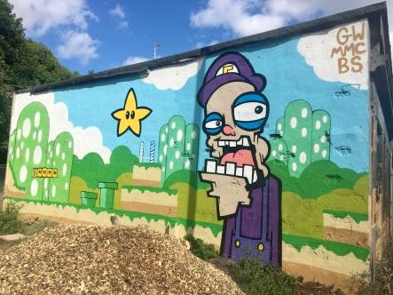 Street art, Braeside Community Garden