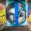 Kelvinbridge street art