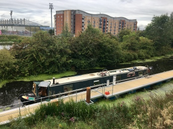 Forth and Clyde Canal at Firhill